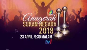 Senarai Pemenang Anugerah Sukan Negara 2018 (Keputusan)