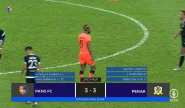 Badi Seri Kembali Lagi, Perak Ikat PKNS FC 3-3 di Shah Alam