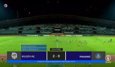 PJ City Kejutkan Pahang 2-0, Kekalahan Pertama Tok Gajah di Liga Super