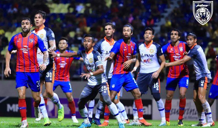 PKNP FC Gagal Manfaatkan Peluang, Ikat JDT 1-1 di Manjung