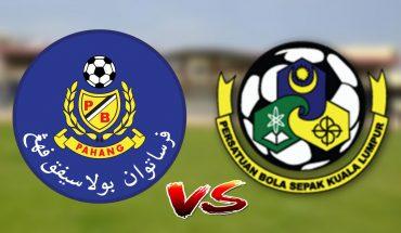 Live Streaming Pahang vs Kuala Lumpur 6.7.2019 Liga Super