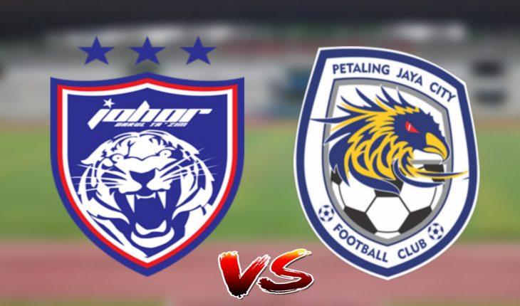 Live Streaming JDT vs PJ City 10.7.2019 Liga Super