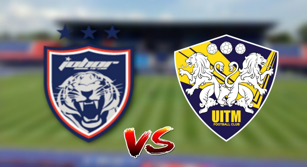 Live Streaming JDT vs UiTM FC 2.8.2019 Piala Malaysia