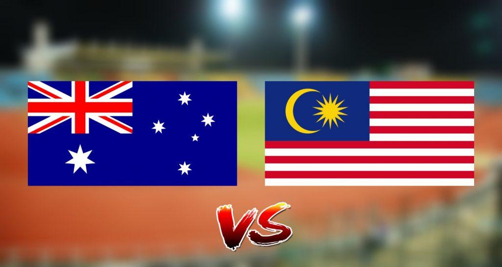 Live Streaming Australia vs Malaysia 13.8.2019 AFF B-18