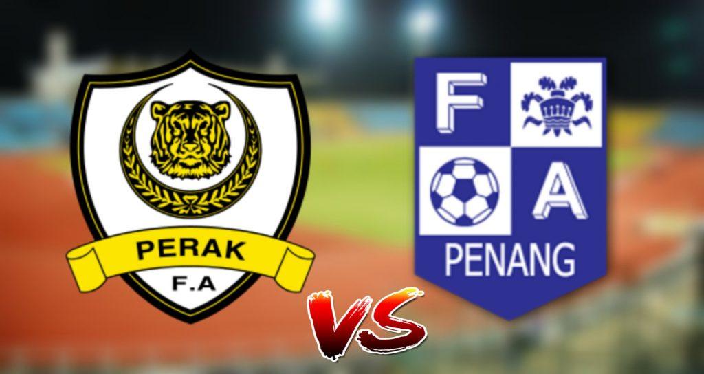 Live Streaming Perak vs Pulau Pinang 17.8.2019 Piala Malaysia