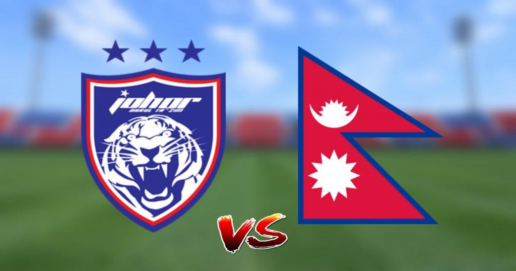 Live Streaming JDT vs Nepal 26.8.2019 Friendly Match