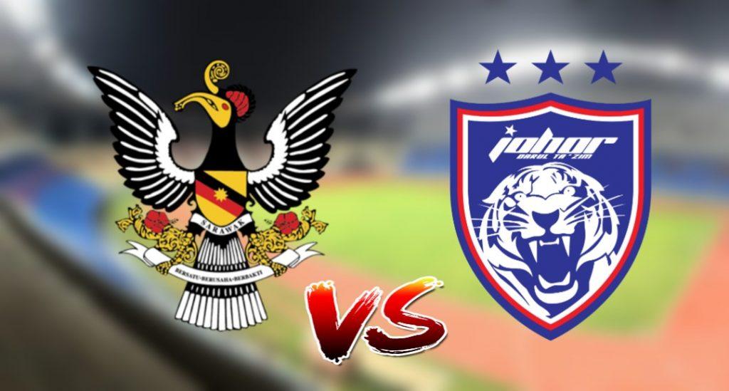 Live Streaming Sarawak vs JDT II 12.9.2019 Challenge Cup