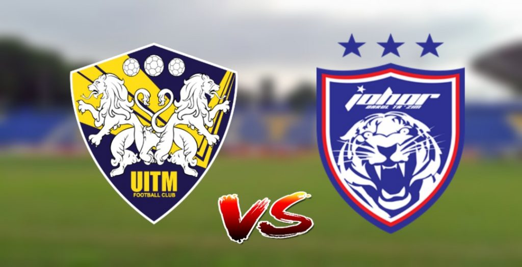 Live Streaming UiTM FC vs JDT 17.9.2019 Piala Malaysia