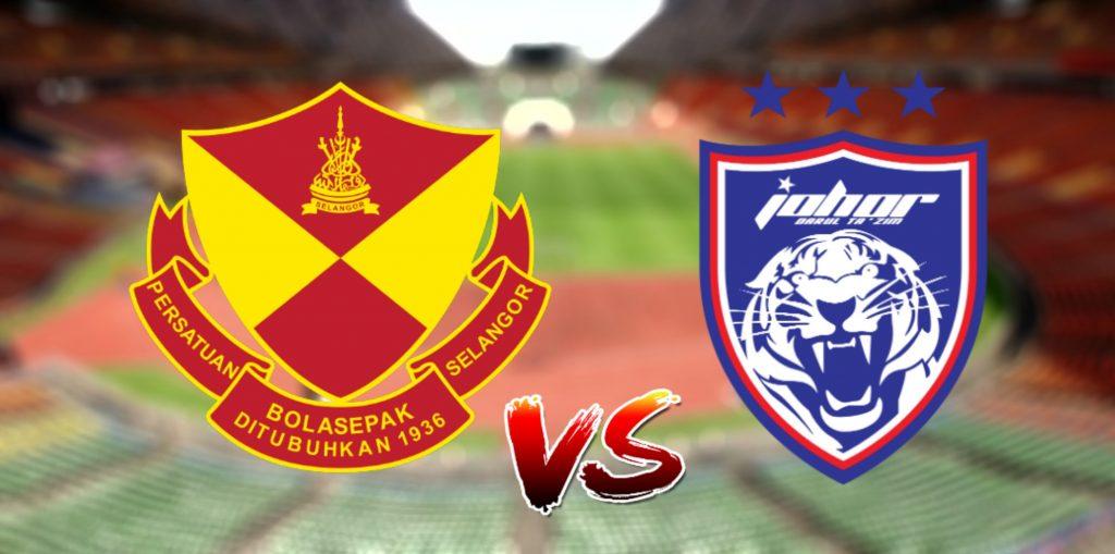 Live Streaming Selangor vs JDT 26.10.2019 Piala Malaysia