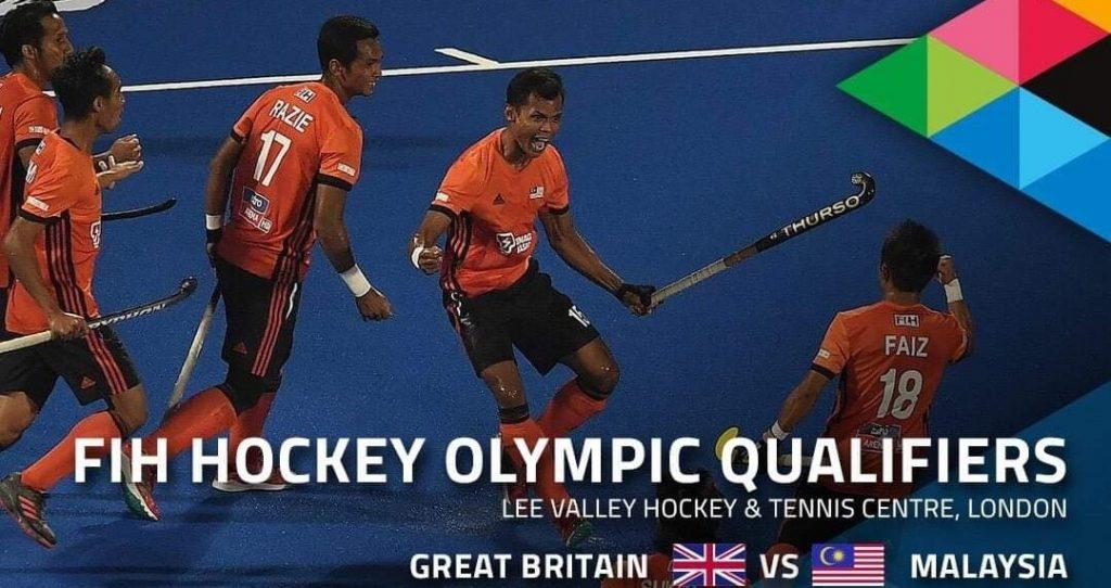 Live Streaming Hoki Great Britain vs Malaysia 2.11.2019 Kelayakan Sukan Olimpik