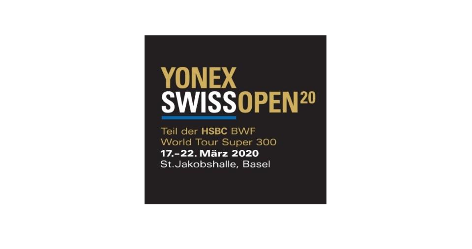 Jadual Badminton Terbuka Swiss 2020 (Keputusan)