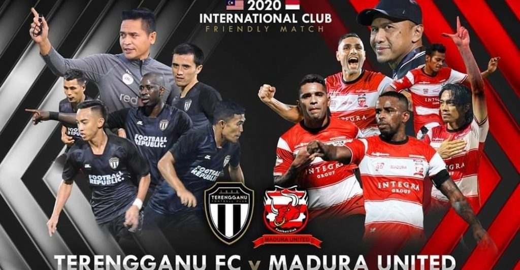 Live Streaming Terengganu vs Madura United Friendly Match 24.1.2020