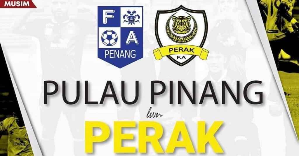 Live Streaming Pulau Pinang vs Perak Friendly Match 28.1.2020