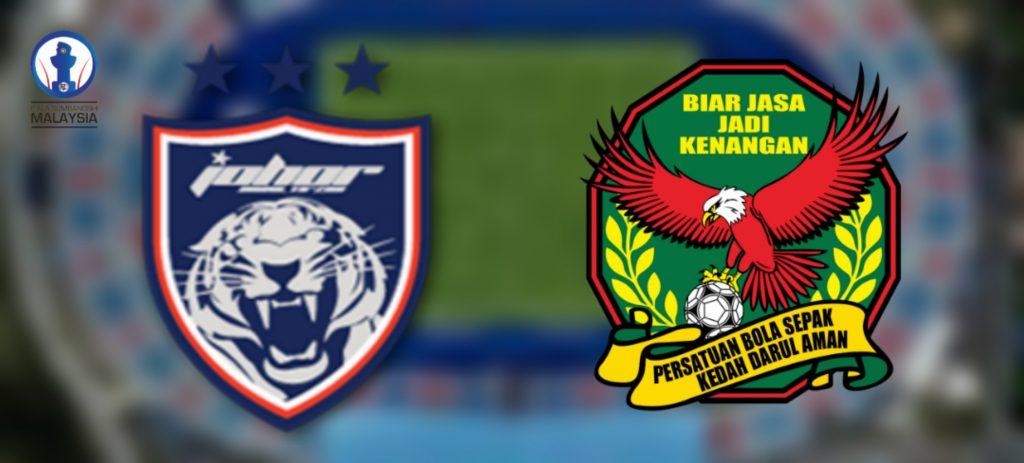 Harga Tiket Piala Sumbangsih 2020 JDT vs Kedah