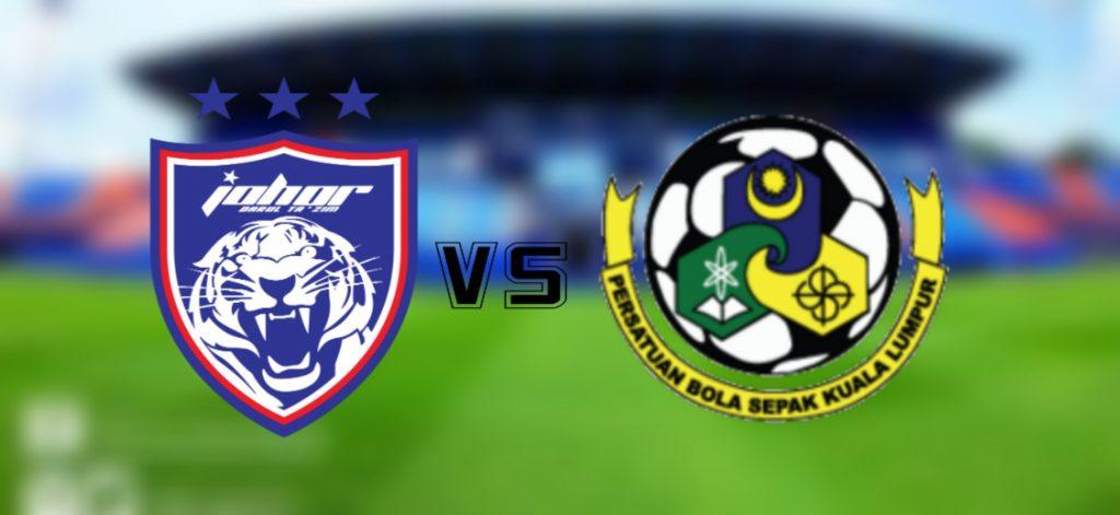 Live Streaming JDT II vs Kuala Lumpur Liga Premier 11.3.2020