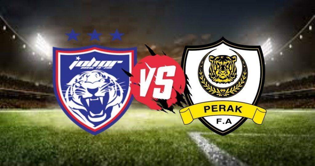Live Streaming JDT FC vs Perak Liga Super 4 September 2020
