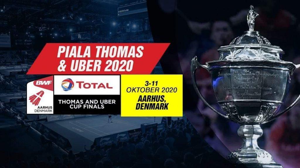 Keputusan Piala Thomas & Uber 2020 Carta Kedudukan