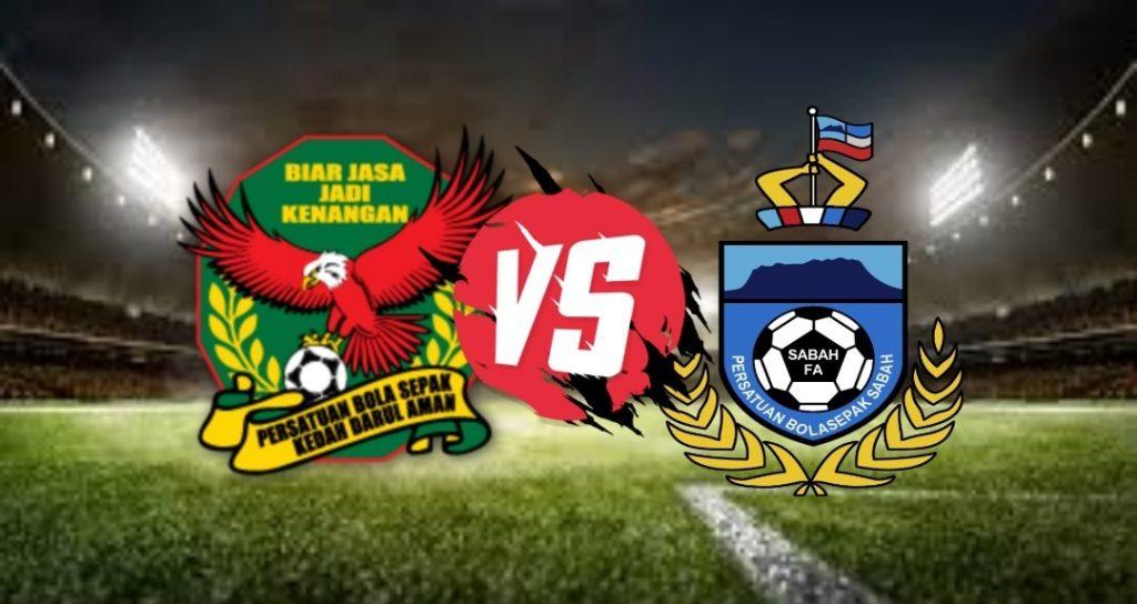 Live Streaming Kedah vs Sabah Liga Super 19 September 2020