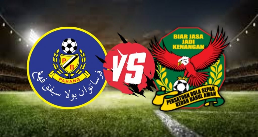 Live Streaming Pahang FA vs Kedah FA Liga Super 26 September 2020