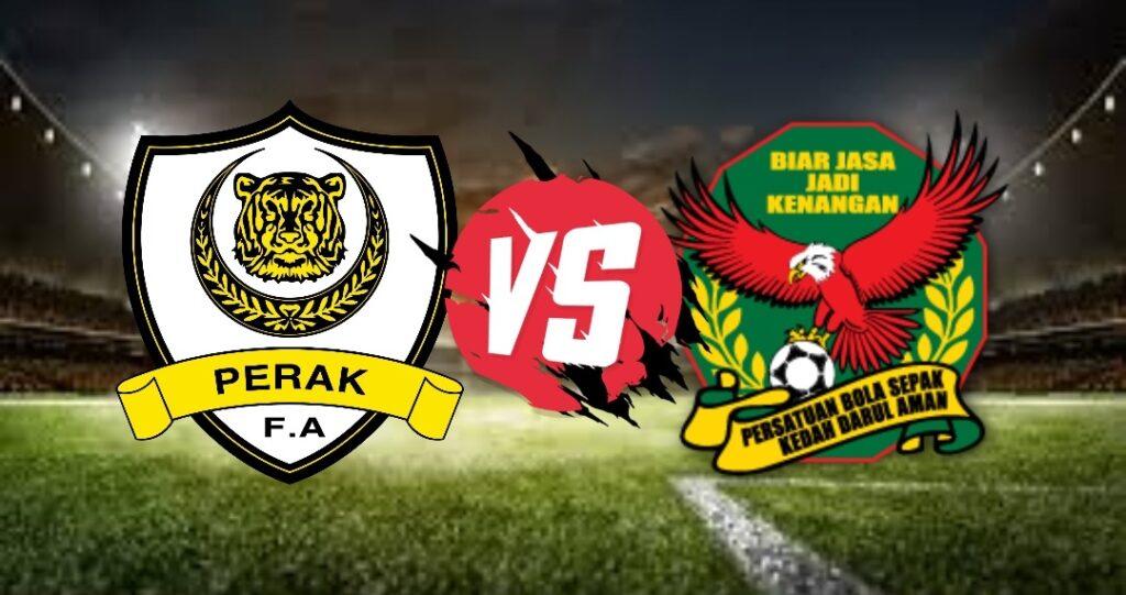 Live Streaming Perak vs Kedah Liga Super 11 Oktober 2020