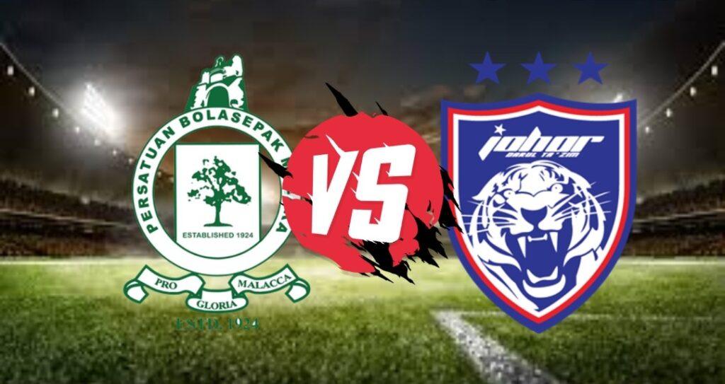 Live Streaming Melaka United vs JDT Liga Super 10 Oktober 2020