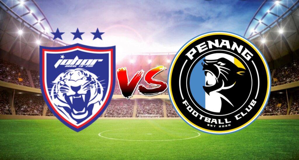 Live Streaming JDT vs Penang FC Liga Super 9 Mac 2021