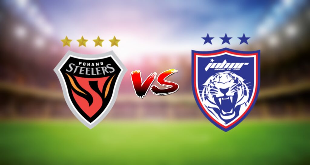 Live Streaming Pohang Steelers vs JDT FC 28 Jun 2021 AFC Champions League