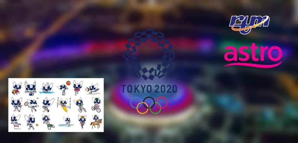 Jadual Siaran Langsung Sukan Olimpik 2020 RTM Astro (Live Streaming)